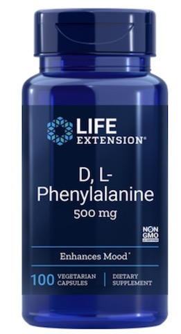 Image of D,L-Phenylalanine 500 mg (DLPA)