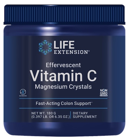 Image of Effervescent Vitamin C Magnesium Crystals