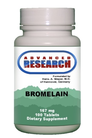 Image of Bromelain with Papain 167/33 mg