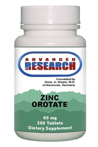 Image of Zinc Orotate 60 mg (10 mg elemental)