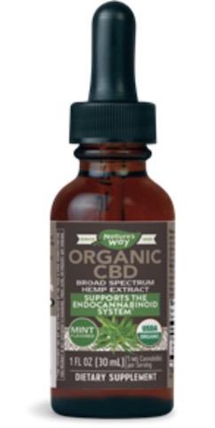 Image of CBD Oil Drops Organic Mint