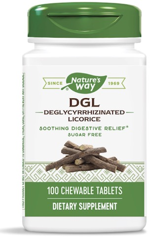 Image of DGL Chewable Sugar Free