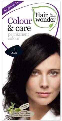 Image of Colour & Care Permanent Colour 1 Black