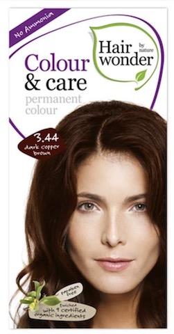 Image of Colour & Care Permanent Colour 3.44 Dark Copper Brown
