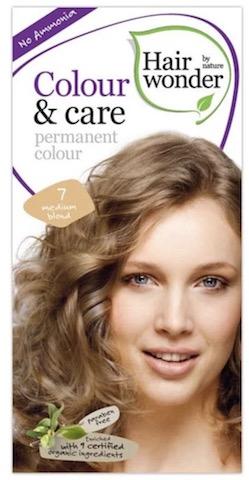 Image of Colour & Care Permanent Colour 7 Medium Blond