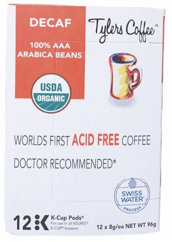 Image of Coffee Decaf Acid-Free Organic K-Cup Pod