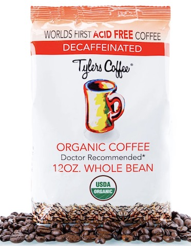 Image of Coffee Decaf Acid-Free Organic Whole Bean