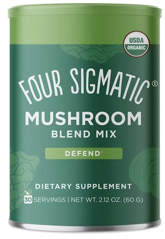 Image of Mushroom Blend Mix with 10 Mushrooms Powder