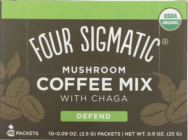 Image of Mushroom Coffee Mix with Chaga & Cordyceps Powder