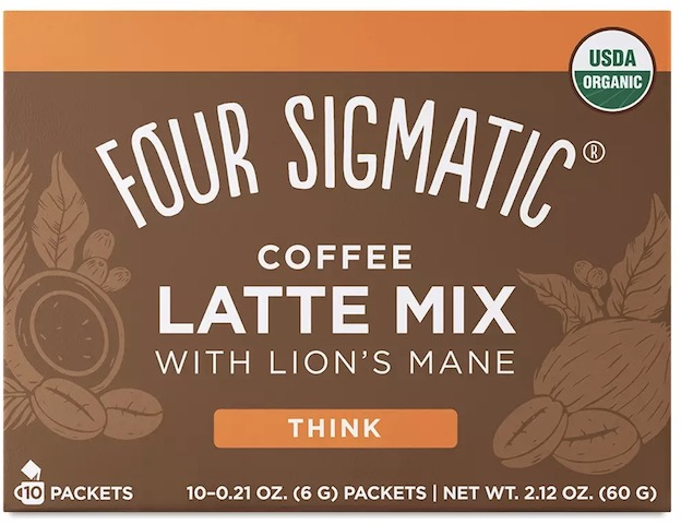 Image of Coffee Latte Mix with Lion's Mane