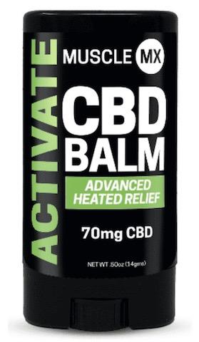 Image of ACTIVATE CBD Heating Balm 70 mg Mini Stick