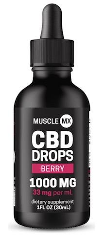 Image of CBD Drops 1000 mg (33 mg per ml) Berry