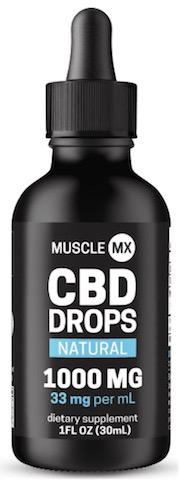 Image of CBD Drops 1000 mg (33 mg per ml) Natural