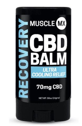 Image of RECOVERY CBD Balm Cooling 70 mg Mini Stick