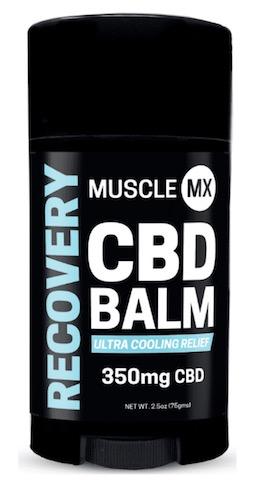 Image of RECOVERY CBD Balm Cooling 350 mg Stick