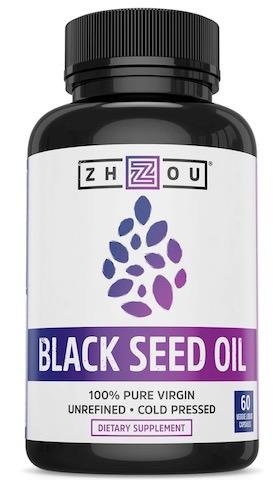 Image of Black Seed Oil 650 mg Liquid Capsule