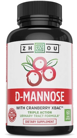 Image of D-Mannose with Cranberry 500/200 mg
