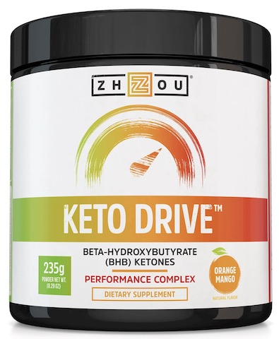 Image of Keto Drive (BHB) Powder Orange Mango