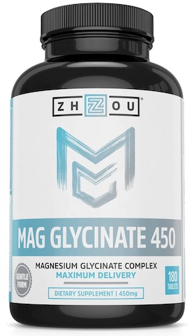 Image of Magnesium Glycinate 450 (225 mg per Tablet)