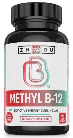 Image of Methyl B12 5000 mcg Sublingual Cherry