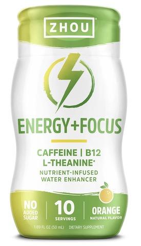 Image of Energy + Focus Water Enhancer Liquid Orange