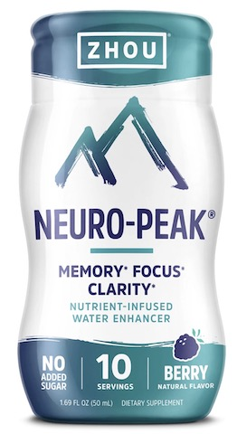 Image of Neuro-Peak Water Enhancer Liquid Berry