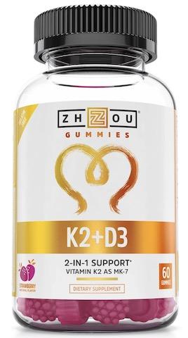 Image of k2 + D3 90 mcg/500 IU Gummies