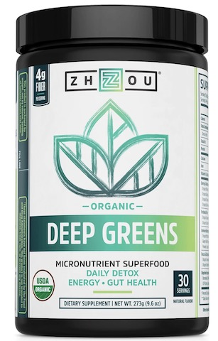 Image of Deep Greens Organic Powder