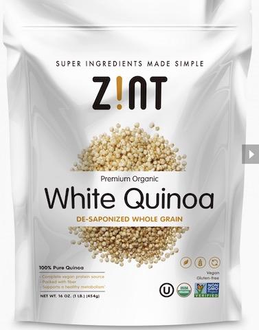 Image of Quinoa White Whole Grain Organic