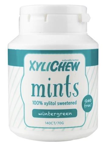 Image of XyliChew Mints Jar Wintergreen
