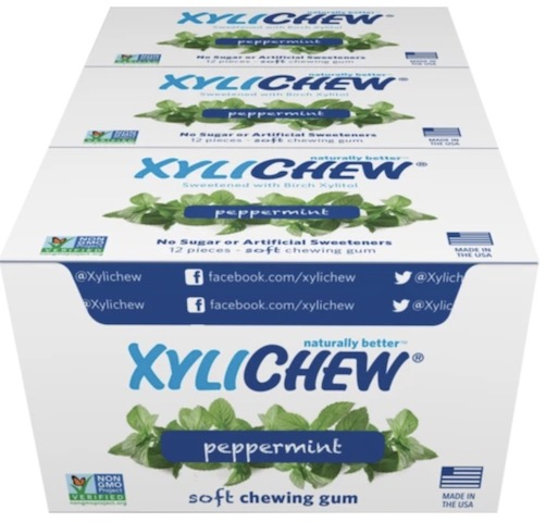 Image of XyliChew Gum Blister Pack Peppermint