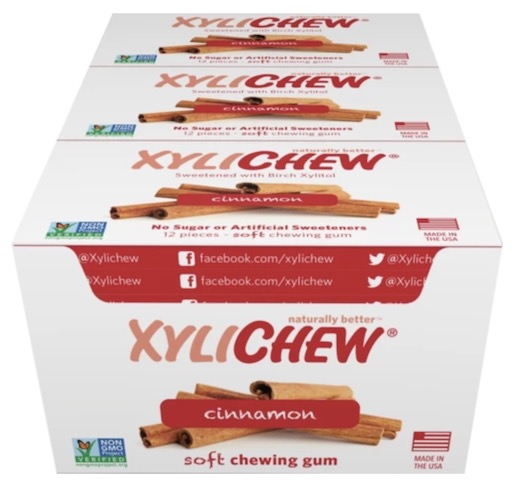 Image of XyliChew Gum Blister Pack Cinnamon