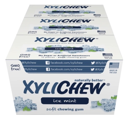 Image of XyliChew Gum Blister Pack Ice Mint