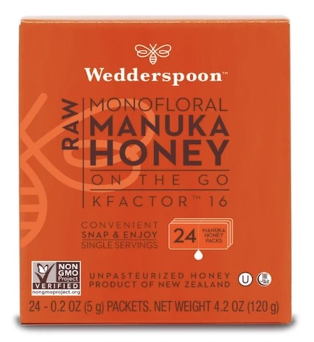 Image of Honey on the Go Manuka Raw Monofloral Kfactor 16 Packet