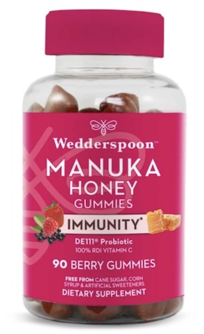 Image of Manuka Honey Immunity Gummies Berry