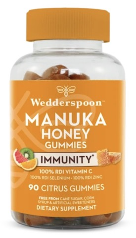 Image of Manuka Honey Immunity Gummies Citrus