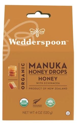 Image of Manuka Honey Drops Organic Honey withe Echinacea