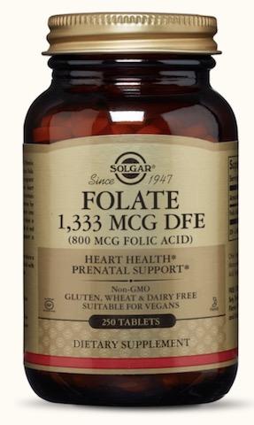 Image of Folate 1,333 mcg DFE (Folic Acid 800 mcg) Capsule