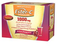 Image of Ester-C Effervescent 1000 mg Powder Pomegranate