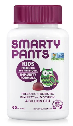 Image of Kids Prebiotic & Probiotic Immunity Formula 4 Billion Gummies Grape