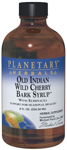 Image of Old Indian Wild Cherry Bark Syrup