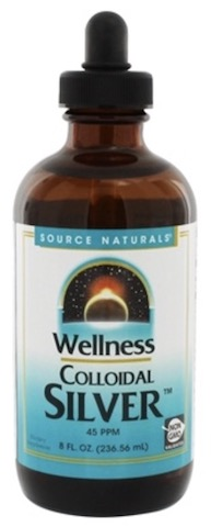 Image of Wellness Colloidal Silver 45 ppm