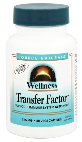 Image of Wellness Transfer Factor 125 mg Vegetarian