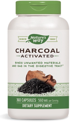 Image of Charcoal Activated 280 mg (Green Label)