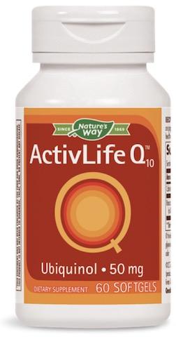 Image of ActivLife Q10 Ubiquinol 50 mg