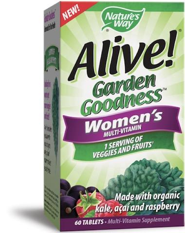 Image of Alive! Garden Goodness MultiVitamin Women's