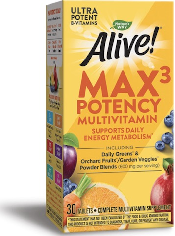Image of Alive! Max3 Daily MultiVitamin (no iron added)