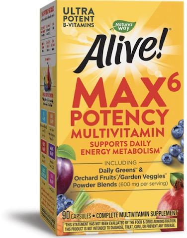 Image of Alive! Max6 Daily Multivitamin Capsule