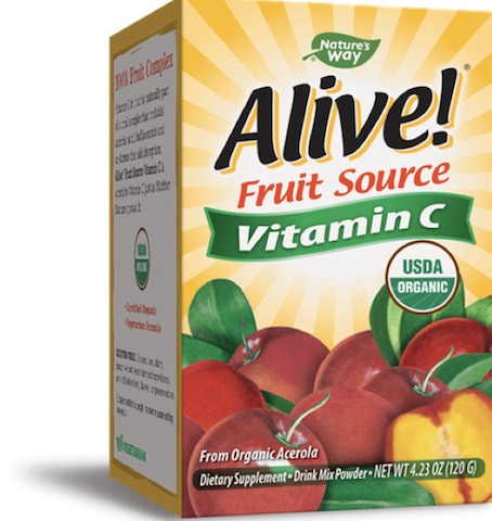 Image of Alive! Vitamin C (Fruit Source) POWDER Organic