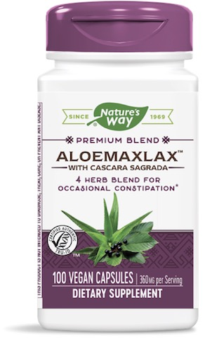 Image of AloeMaxLax with Cascara Sagrada 360 mg